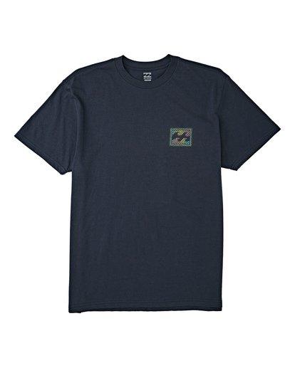 3 EC-Nosara 1 Short Sleeve T-Shirt Blue M4602BEN Billabong