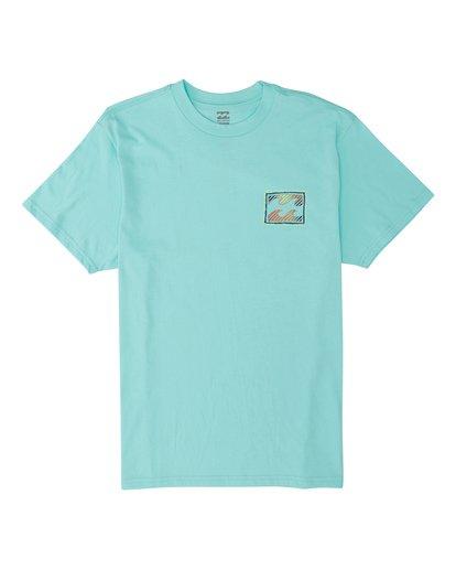 5 EC-Nosara 1 Short Sleeve T-Shirt Grey M4602BEN Billabong