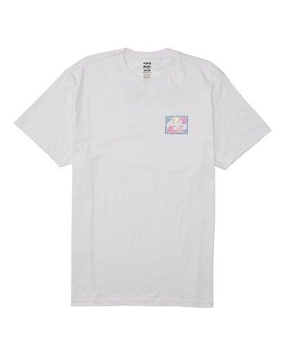 5 EC-Nosara 1 Short Sleeve T-Shirt White M4602BEN Billabong
