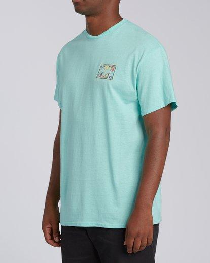 3 EC-Nosara 1 Short Sleeve T-Shirt Grey M4602BEN Billabong