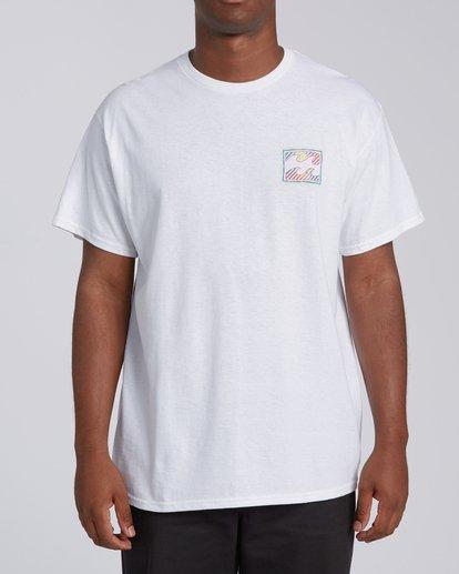 2 EC-Nosara 1 Short Sleeve T-Shirt White M4602BEN Billabong