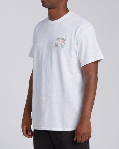 3 EC-Nosara 1 Short Sleeve T-Shirt White M4602BEN Billabong
