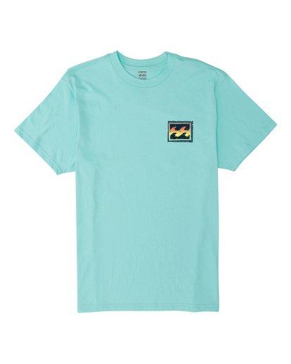 5 EC-Nosara 2 Short Sleeve T-Shirt Grey M4602BEO Billabong