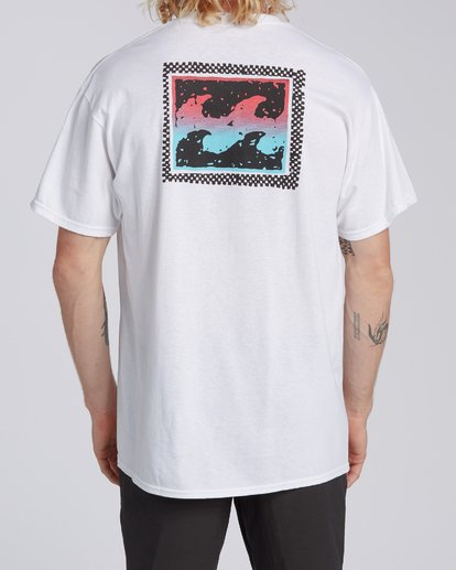 2 EC-Nosara 2 Short Sleeve T-Shirt White M4602BEO Billabong