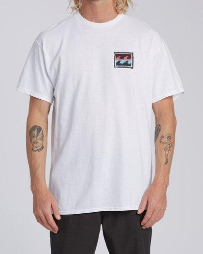0 EC-Nosara 2 Short Sleeve T-Shirt White M4602BEO Billabong