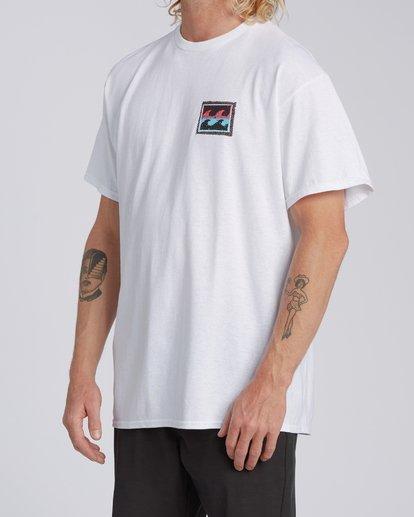 1 EC-Nosara 2 Short Sleeve T-Shirt White M4602BEO Billabong