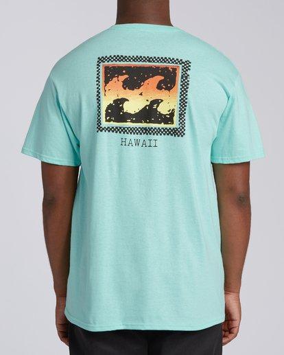 2 Nosara 2 Hawaii Short Sleeve T-Shirt Grey M4602BRA Billabong
