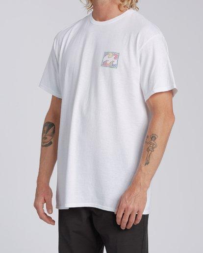 1 Nosara 1 Hawaii Short Sleeve T-Shirt White M4602BRN Billabong