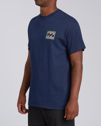 1 Nosara 1 Florida Short Sleeve T-Shirt Blue M4602BRS Billabong