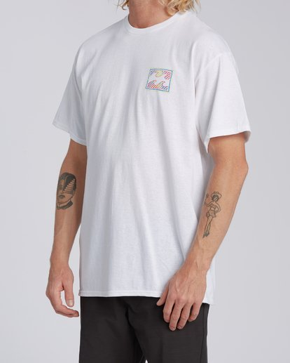 1 Nosara 1 Florida Short Sleeve T-Shirt White M4602BRS Billabong