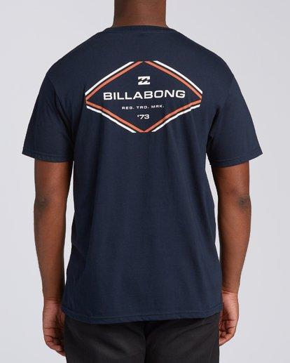 2 Triangular Short Sleeve T-Shirt Blue M4602BTR Billabong