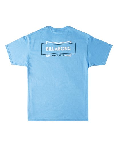 1 Retro Short Sleeve T-Shirt Blue M4603BVB Billabong
