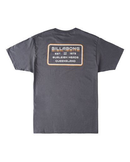 1 Lines Short Sleeve T-Shirt Black M4603BVH Billabong