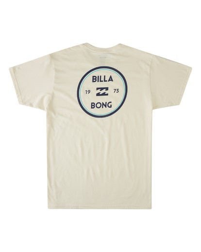 4 Roller Short Sleeve T-Shirt White M4603BVO Billabong