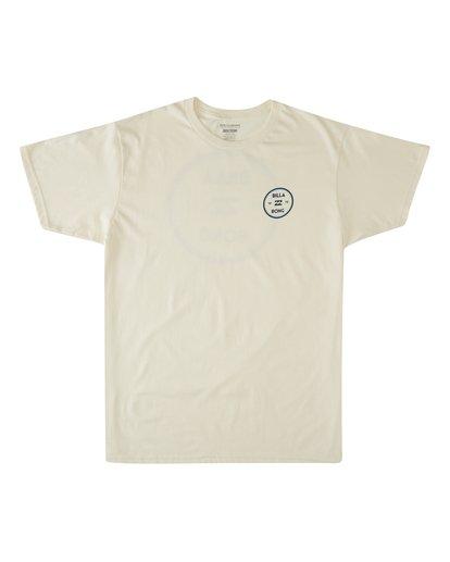3 Roller Short Sleeve T-Shirt White M4603BVO Billabong