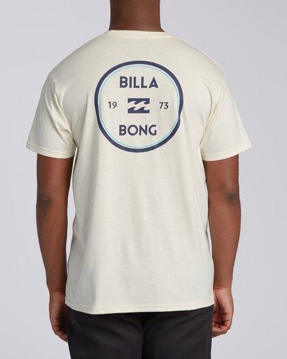 2 Roller Short Sleeve T-Shirt White M4603BVO Billabong