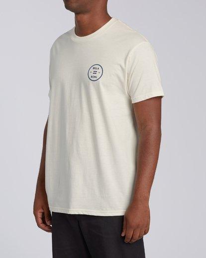 1 Roller Short Sleeve T-Shirt White M4603BVO Billabong
