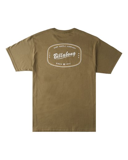 1 Industry Short Sleeve T-Shirt Green M4603BVT Billabong