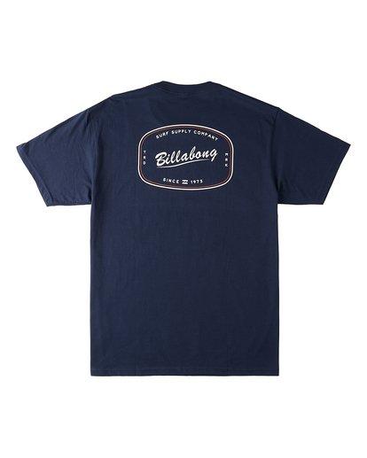 1 Industry Short Sleeve T-Shirt Blue M4603BVT Billabong