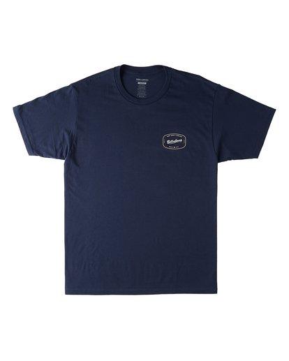 0 Industry Short Sleeve T-Shirt Blue M4603BVT Billabong