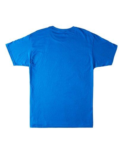 1 Invert Short Sleeve T-Shirt Blue M4603BVU Billabong