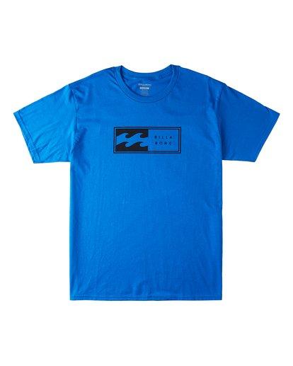 0 Invert Short Sleeve T-Shirt Blue M4603BVU Billabong
