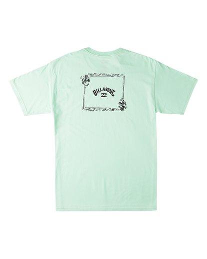 1 Waterloo Short Sleeve T-Shirt Green M4603BVV Billabong