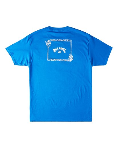 1 Waterloo Short Sleeve T-Shirt Blue M4603BVV Billabong