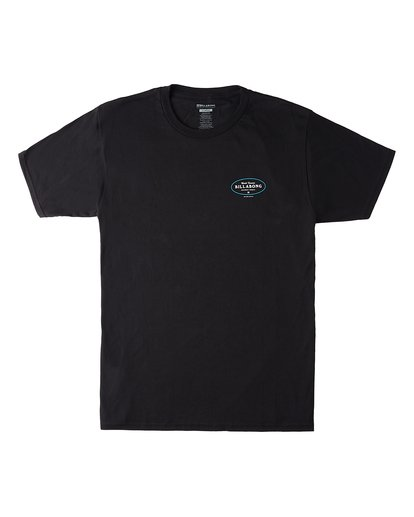 0 Famous Short Sleeve T-Shirt Black M4603BVW Billabong