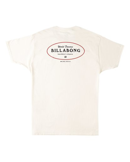 1 Famous Short Sleeve T-Shirt Multicolor M4603BVW Billabong