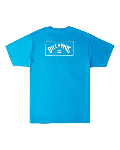 1 Arch Wave Short Sleeve T-Shirt Blue M4603BVX Billabong