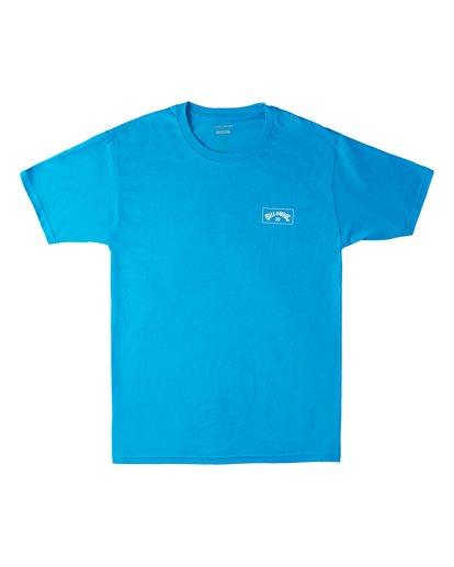 0 Arch Wave Short Sleeve T-Shirt Blue M4603BVX Billabong