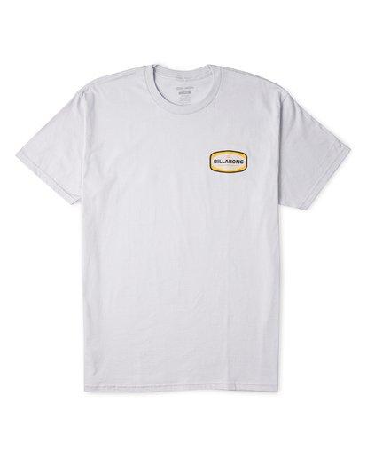 3 Ditch Short Sleeve T-Shirt Grey M460WBDT Billabong