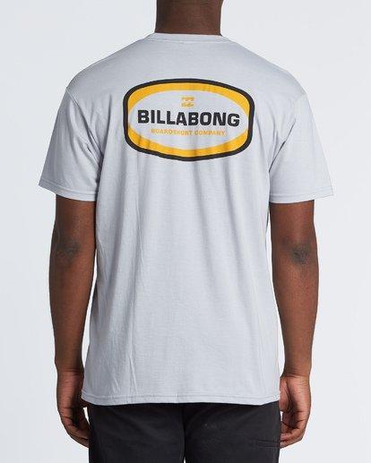 2 Ditch Short Sleeve T-Shirt Grey M460WBDT Billabong
