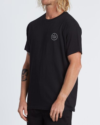 1 Rotor Essential Short Sleeve T-Shirt Black M460WBRO Billabong
