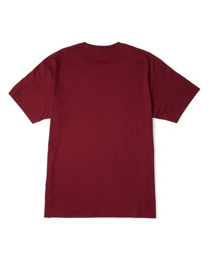 4 Stacked Essential Short Sleeve T-Shirt Red M460WBSE Billabong