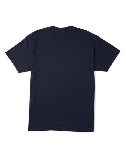 5 Stacked Essential Short Sleeve T-Shirt Blue M460WBSE Billabong