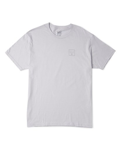 3 Stacked Essential Short Sleeve T-Shirt Grey M460WBSE Billabong