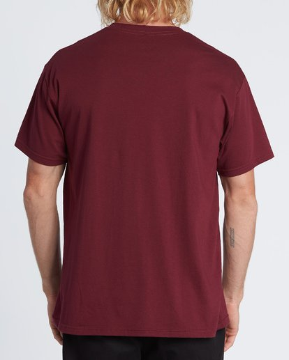 2 Stacked Essential Short Sleeve T-Shirt Red M460WBSE Billabong