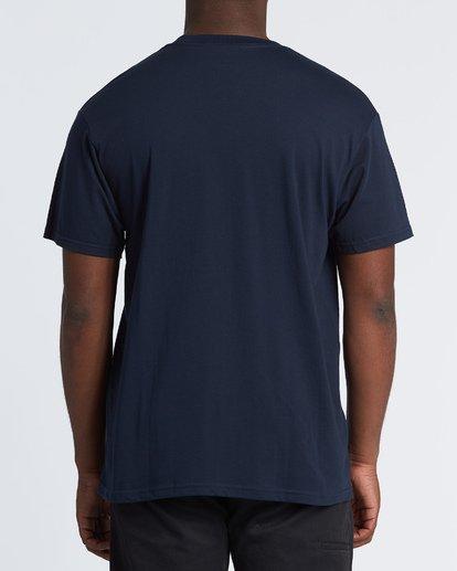 2 Stacked Essential Short Sleeve T-Shirt Blue M460WBSE Billabong