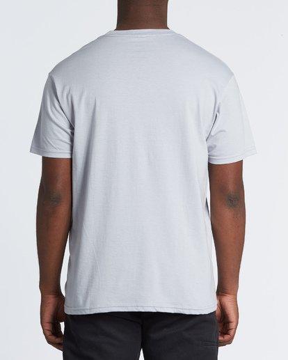 2 Stacked Essential Short Sleeve T-Shirt Grey M460WBSE Billabong