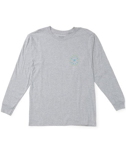 0 Rotor Long Sleeve T-Shirt Grey M470TROE Billabong