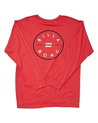 1 Rotor Long Sleeve T-Shirt Red M470TROE Billabong