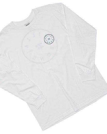 2 Rotor Long Sleeve T-Shirt White M470TROE Billabong