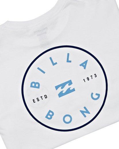 3 Rotor Long Sleeve T-Shirt White M470TROE Billabong