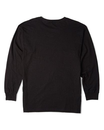 4 Rotor Essntial Long Sleeve T-Shirt Black M470WBRO Billabong