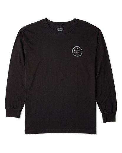 3 Rotor Essntial Long Sleeve T-Shirt Black M470WBRO Billabong
