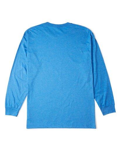 4 Rotor Essntial Long Sleeve T-Shirt Blue M470WBRO Billabong