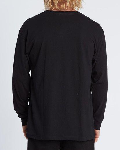 2 Rotor Essntial Long Sleeve T-Shirt Black M470WBRO Billabong