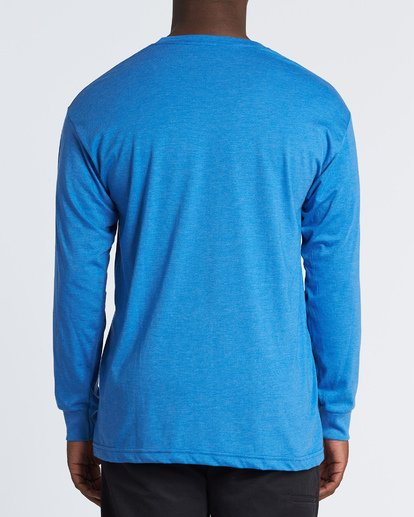2 Rotor Essntial Long Sleeve T-Shirt Blue M470WBRO Billabong